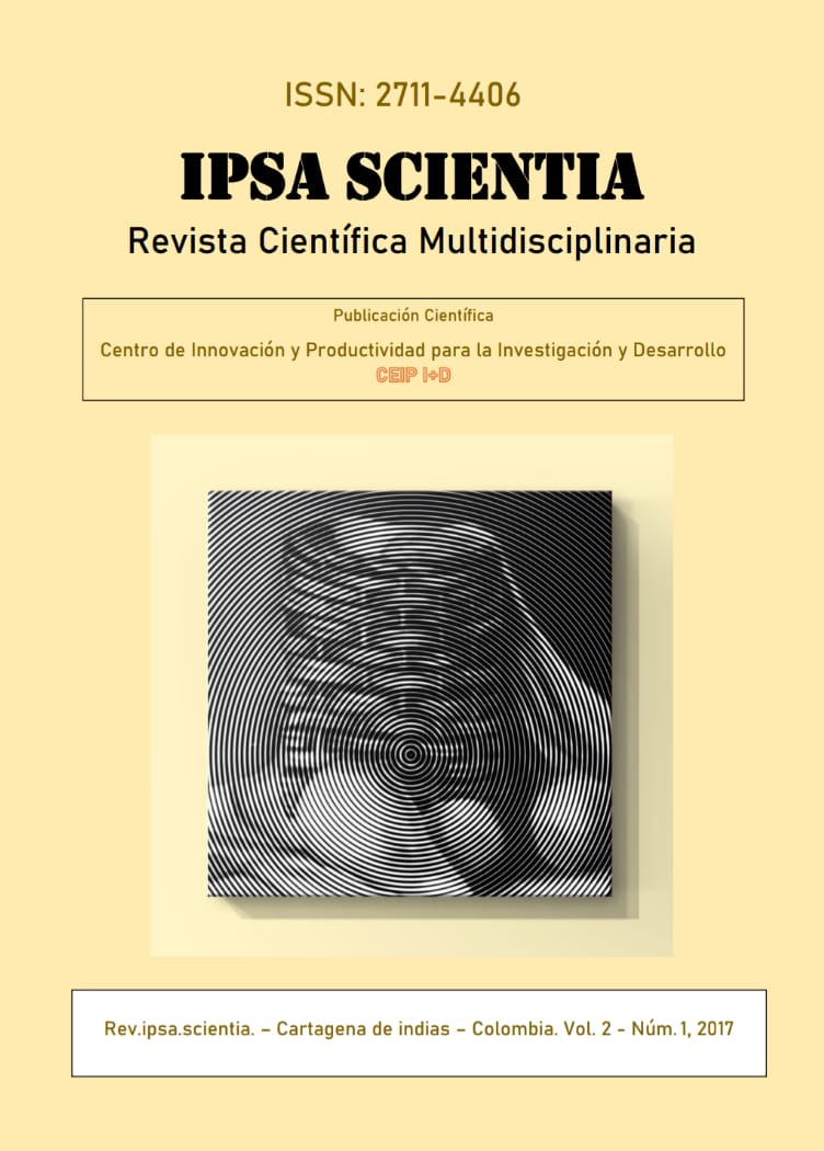 Ver Vol. 2 Núm. 1 (2017): IPSA Scientia, revista científica multidisciplinaria