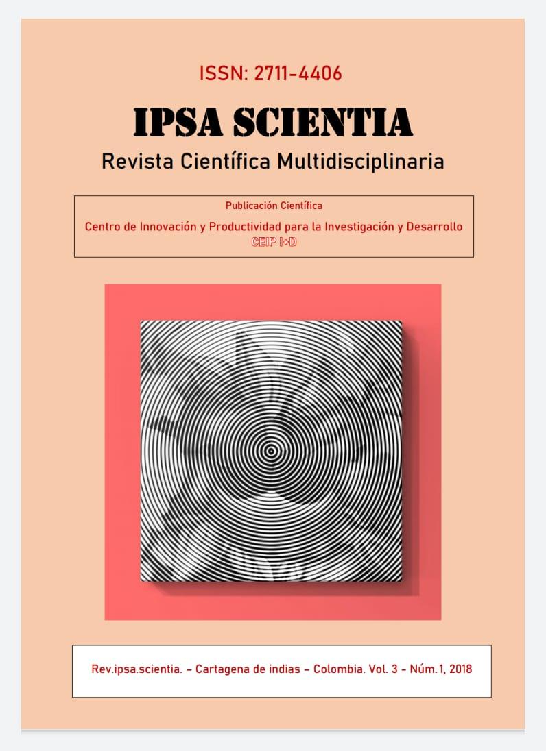 Ver Vol. 3 Núm. 1 (2018): IPSA Scientia, revista científica multidisciplinaria
